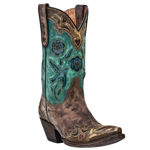 Dan Post Women's Vintage Bluebird Boot
