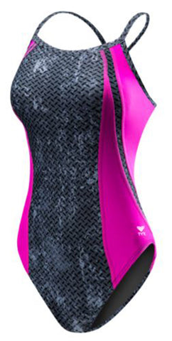 TYR Girl's Viper Diamond Fit-Y Swimsuit