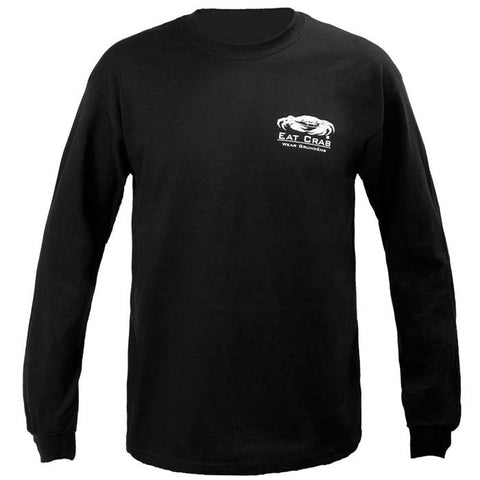 Grundens Unisex Eat Crab Long Sleeve T-Shirt