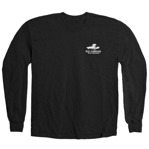 Grundens Mens Eat Lobster Long Sleeve T-Shirt