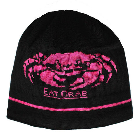 Grundéns Unisex Eat Crab Knitted Beanie
