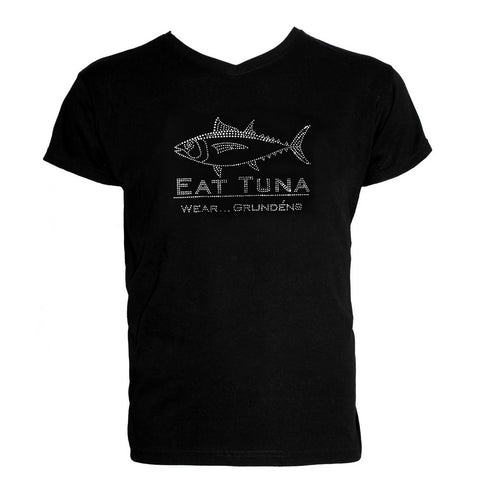 Grundéns Womens Eat Tuna Bling T-Shirt