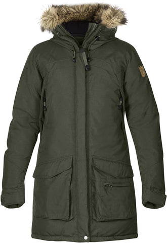 Fjallraven Womens Kyla Parka Down Alternative Outerwear Coat