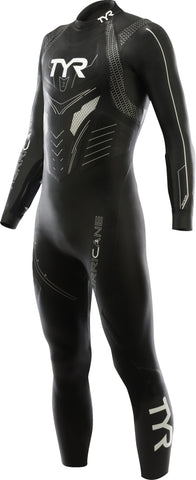 TYR Sport Men's Hurricane Category 3 Triathlon Long Sleeve Wetsuit