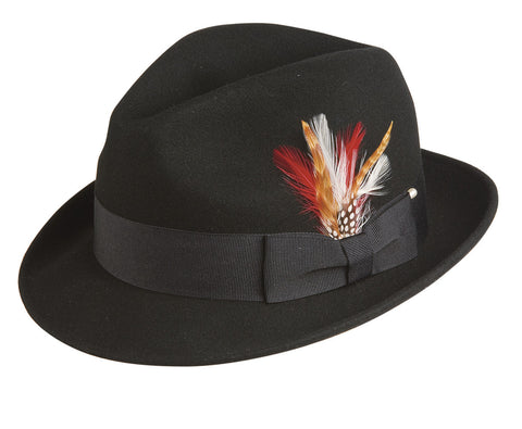 Conner Men's Bogart Wool Fedora Hat