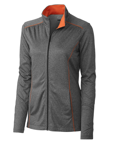 Cutter & Buck Women's Cb Drytec Green Lake Full Zip