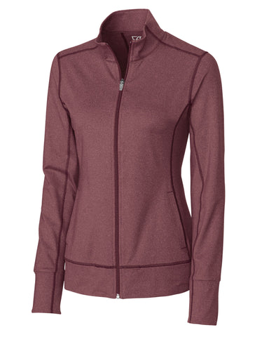 Cutter & Buck Women's Cb Drytec Ladies Topspin Full Zip