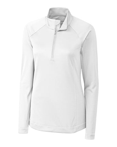 Cutter & Buck Women's Drytec L/S Evolve Half Zip