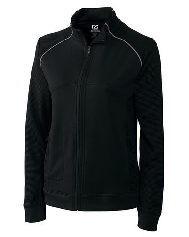 Cutter & Buck Women's Cb Drytec Edge Full Zip