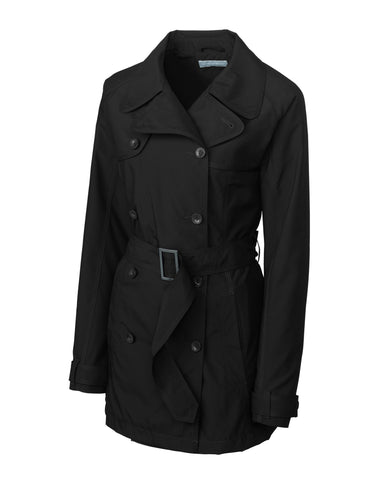 Cutter & Buck Women's Cb Weathertec Mason Trench Coat