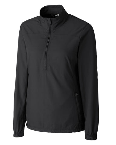 Cutter & Buck Women's Cb Weathertec L/S Naomi 3/4 Zip