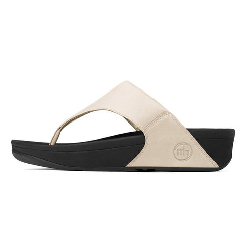 Fitflop Women's Lulu Leather Flip Flops