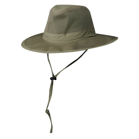 DPC Outdoor Design Men's Supplex/Mesh Safari Sun Hats