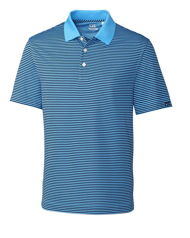 Cutter & Buck Men's Cb Drytec Trevor Stripe