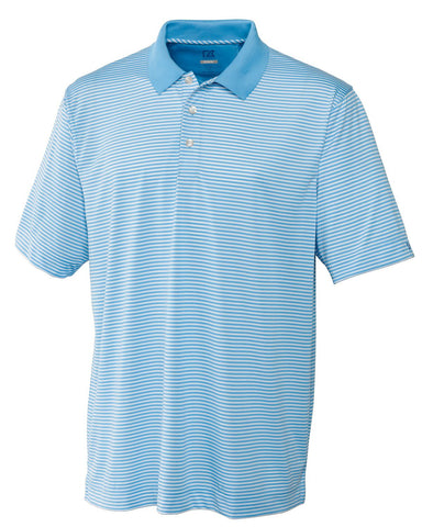 Cutter & Buck Men's Drytec Trevor Stripe