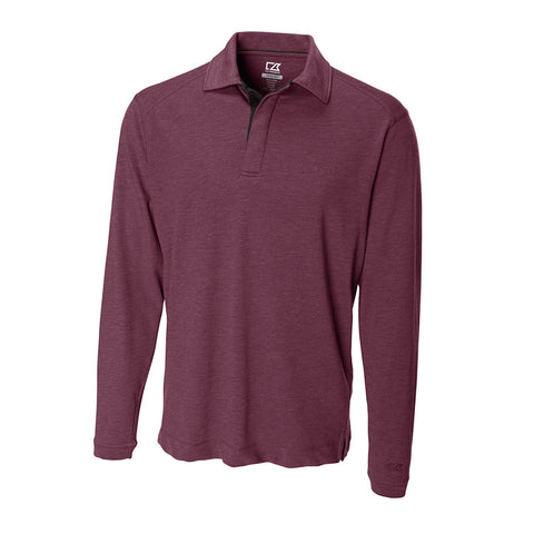 Cutter & Buck Men's CB DryTec L/S Benton Polo