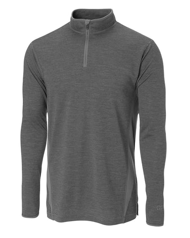 Cutter & Buck Men's Cb Drytec L/S Hudson Bay Mock