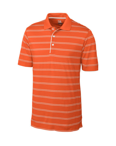 Cutter & Buck Men's Cb Drytec Hawthorne Stripe