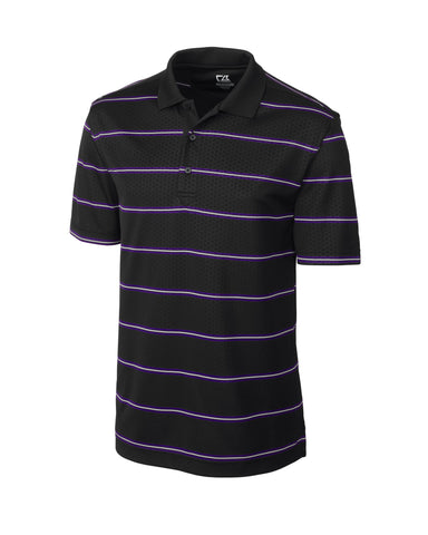 Cutter & Buck Men's Cb Drytec Embossed Tackle Polo