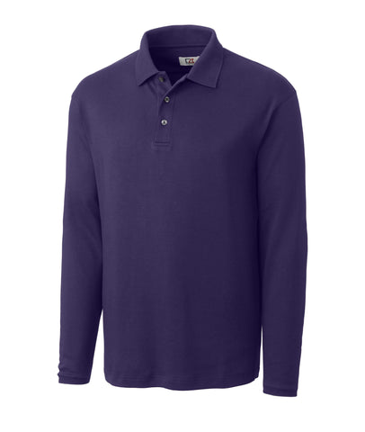 Cutter & Buck Men's L/S Brokers Bay Polo