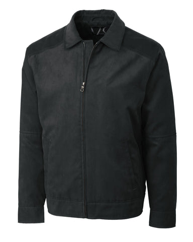 Cutter & Buck Men's Microsuede Roosevelt Jacket