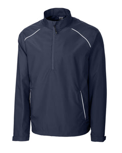 Cutter & Buck Men's Cb Weathertec Beacon Half Zip Jacket