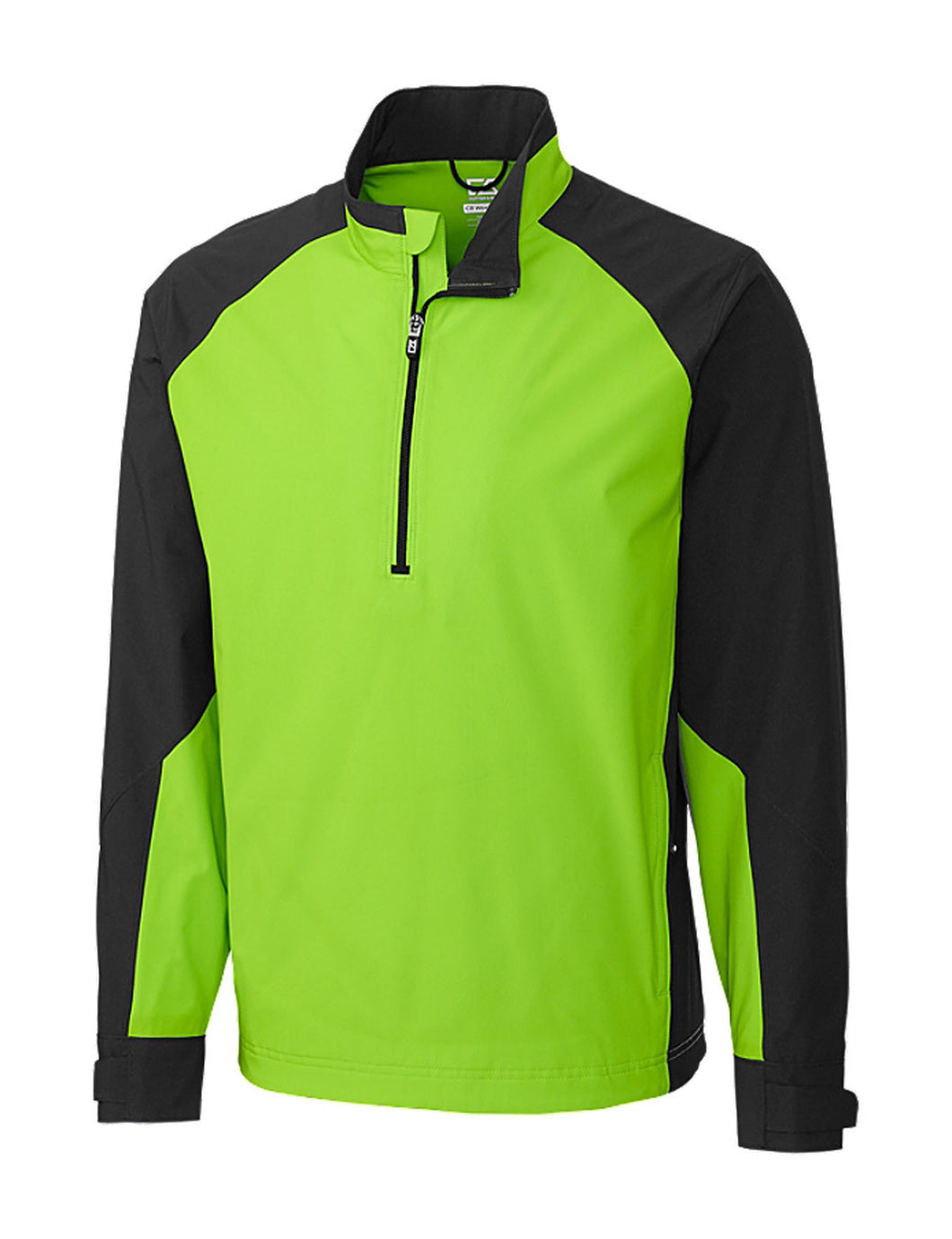 Cutter & Buck Men's Cb Weathertec Summit Half Zip Jacket