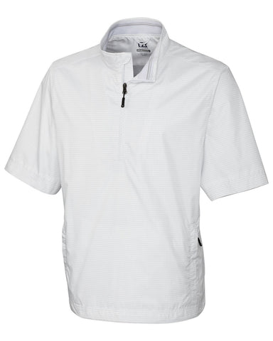 Cutter & Buck Men's WindTec Owen S/S Half Zip