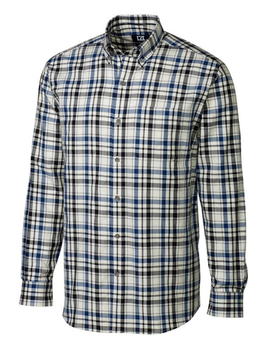 Cutter & Buck Men's L/S Roy Plaid