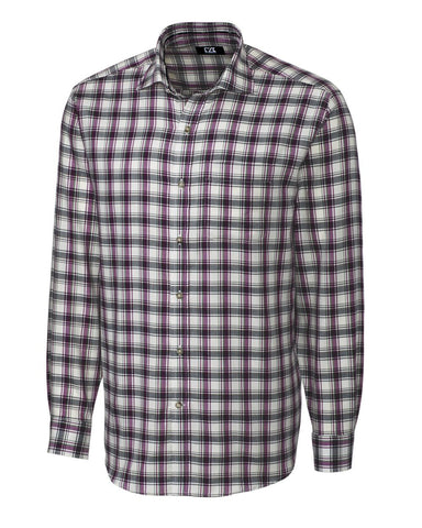 Cutter & Buck Men's L/S Olmsted Plaid
