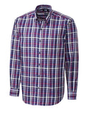 Cutter & Buck Men's L/S Hillclimb Plaid
