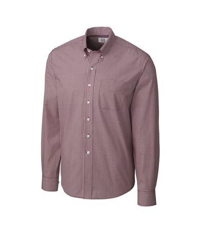 Cutter & Buck Men's L/S Epic Easy Care Gingham