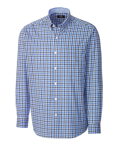 Cutter & Buck Men's L/S Cascade Range Gingham
