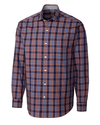 Cutter & Buck Men's L/S Fredrick Plaid
