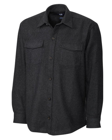 Cutter & Buck Men's L/S Virany Shirt Jacket