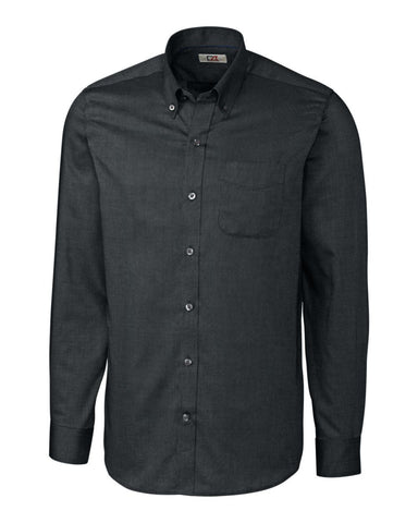 Cutter & Buck Men's L/S Tailored Fit Nailshead