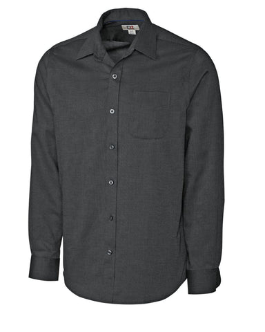 Cutter & Buck Men's L/S Tailored Fit Spread Nailshead