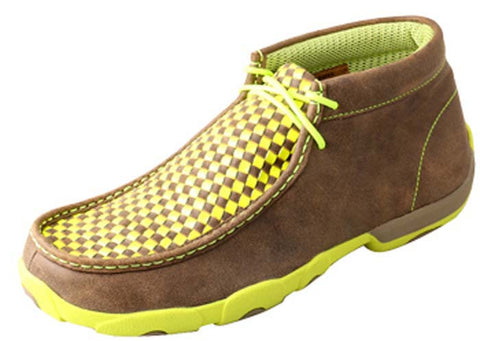 Twisted X MDM0029 Men's Driving Mocs D Toe Shoes