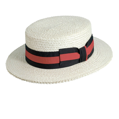 Scala Classico Men's Straw Boater Hats