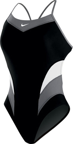 Nike Swim Women's Victory Color Block Cut-Out Tank