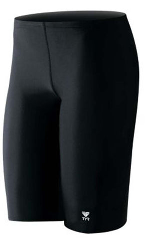 TYR Sport Boy's Solid Lycra Jammer Swimsuit