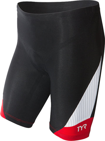 "TYR Sport Men's Carbon 9"" Tri Shorts"