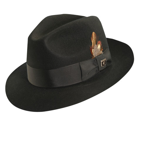 Stacy Adams Men's Sa Cannery Row Wool Hat Hats