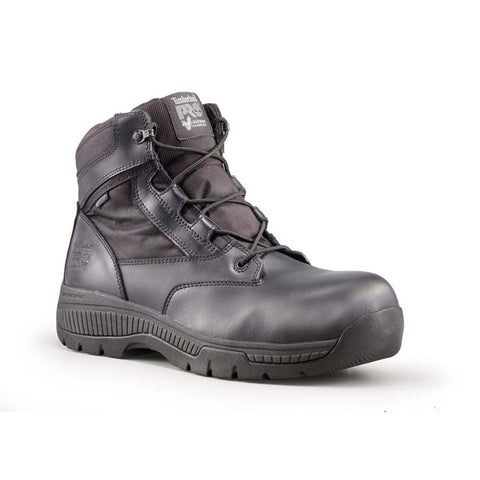 "Timberland PRO Unisex 6"" Valor Composite Safety Toe Waterproof Side-Zip Boot"