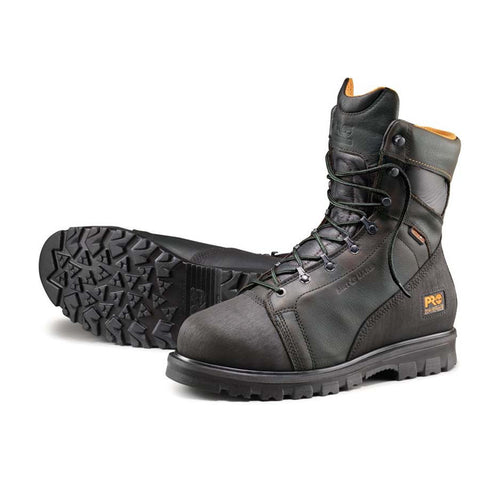 "Timberland PRO Men's 8"" Rigmaster Alloy Safety Toe Internal Met Guard Waterproof Boot"
