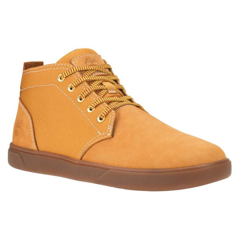 Timberland Mens Groveton Chukka Leather and Fabric Boot