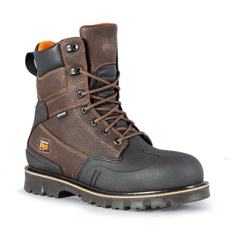 "Timberland PRO Men's 8"" Rigmaster XT Steel Safety Toe Waterproof Boot"