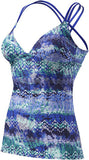 TYR Women's Emerald Lake Cascade Cross Tankini
