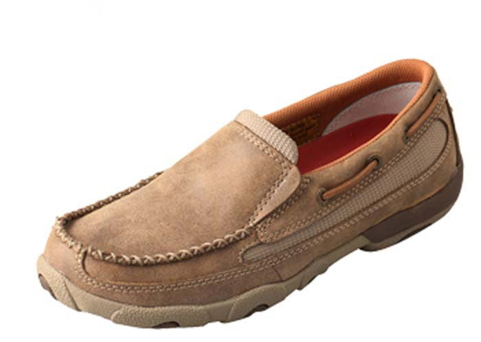 30293e143a4 Twisted X WDMS005 Women s Driving Mocs Slip On Dtoe Shoes - WDMS005