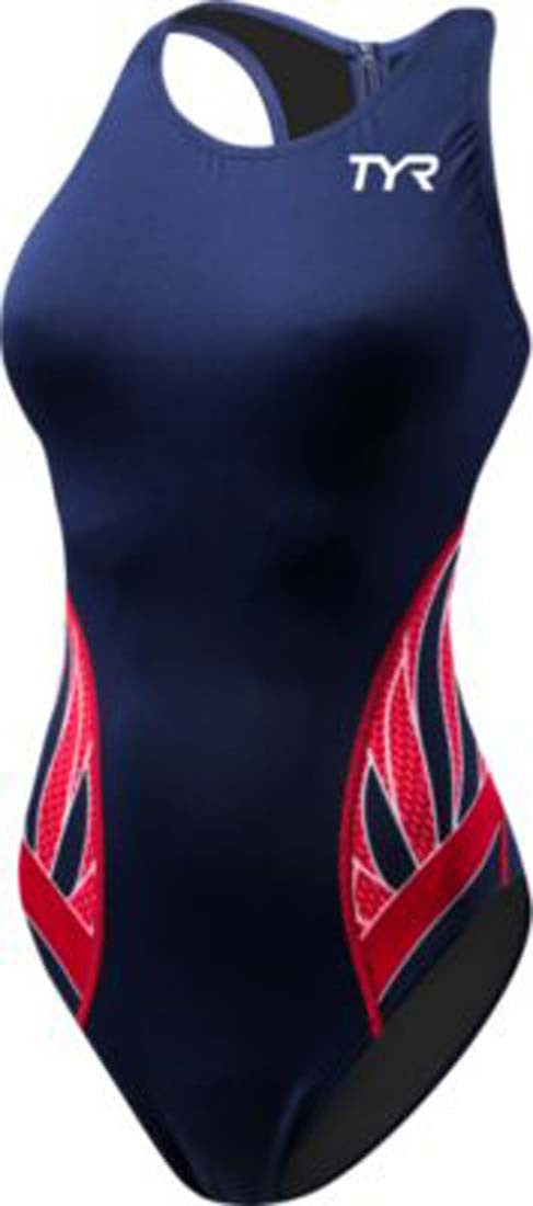 TYR Sport Women's Phoenix Splice Destroyer Water Polo Suit